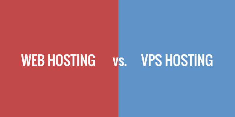 The Differences Between Web and VPS Hosting